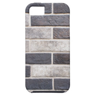 Decorative brickwork of white and black bricks case for the iPhone 5