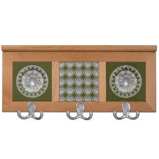 Decorative Buttons Coat Racks