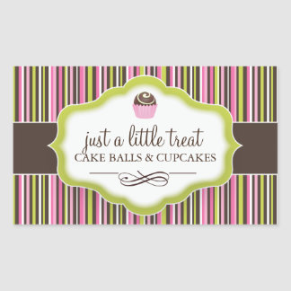 Decorative Cake Bites Stickers