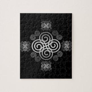 Decorative Celtic design. Jigsaw Puzzle