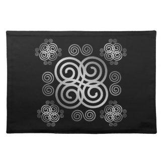 Decorative Celtic design. Placemat