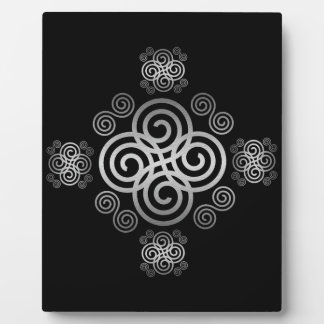 Decorative Celtic design. Plaque