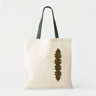 Decorative Celtic Knots With Ivy Budget Tote Bag