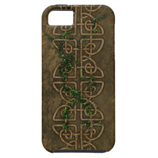 Decorative Celtic Knots With Ivy Case For The iPhone 5