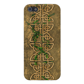 Decorative Celtic Knots With Ivy iPhone 5 Covers