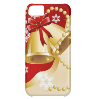 Decorative Christmas Gold Bells iPhone 5C Case