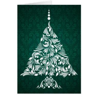 Decorative Christmas Tree Card