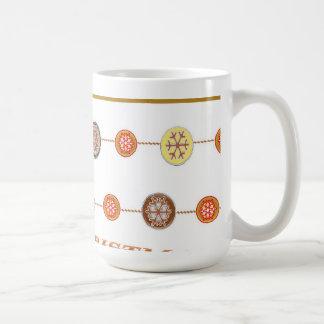 Decorative Circular Design Mug