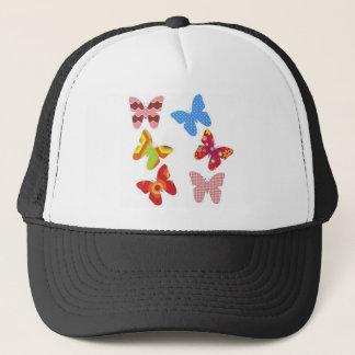 Decorative Colored Butterflies Trucker Hat