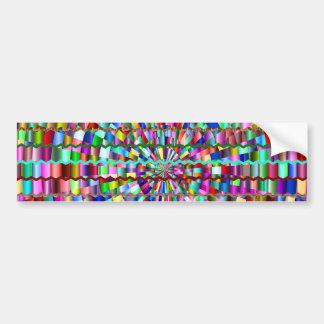 Decorative Colors Bumper Sticker