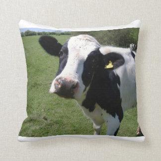 Decorative cow pillow