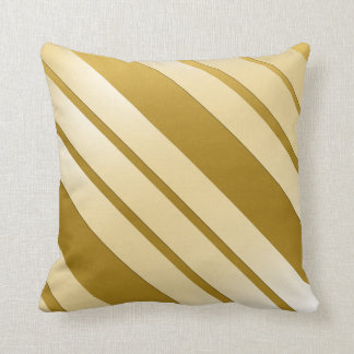 """Decorative cushion GOLD decoration """"Oblique Lines"""