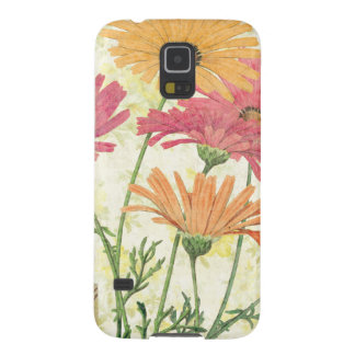 Decorative Daisies Case For Galaxy S5
