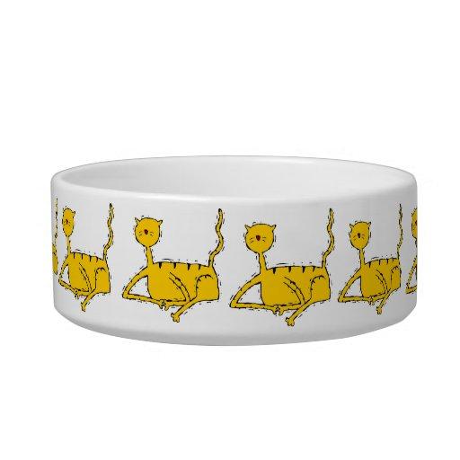 Decorative  Design Cat Dish Bowl Cat Water Bowls