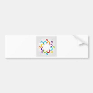 Decorative design element bumper sticker