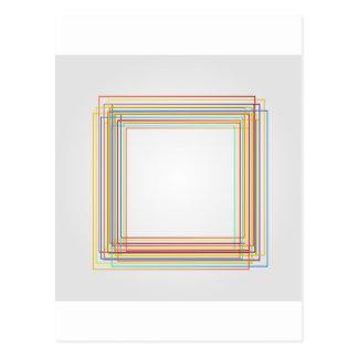 Decorative design element post cards