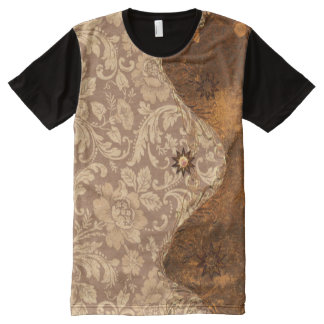 Decorative design with vintage touch All-Over print T-Shirt