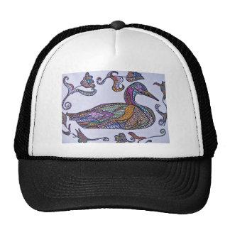 Decorative Duck Mesh Hat