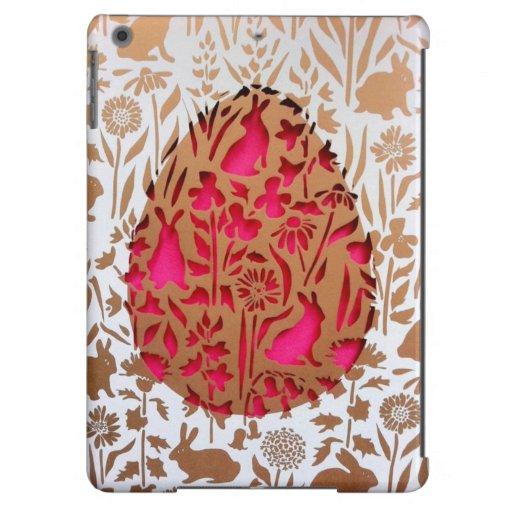 Decorative Easter egg iPad cover