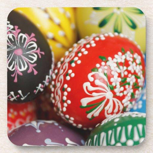 Decorative Eggs Drink Coasters