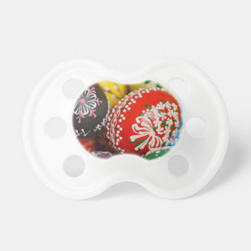 Decorative Eggs Baby Pacifiers