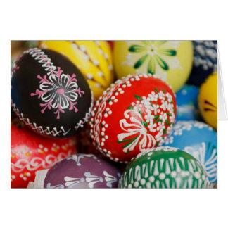 Decorative Eggs Greeting Card