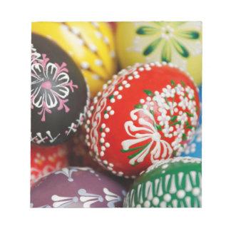 Decorative Eggs Notepad