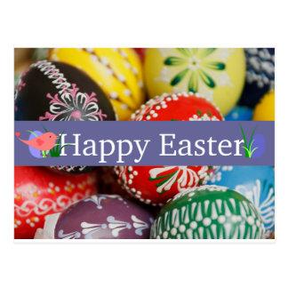 Decorative Eggs Postcard