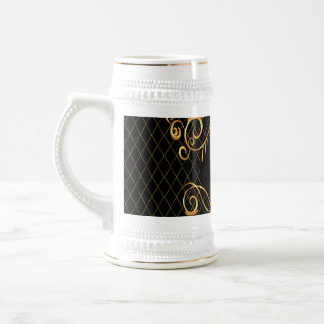 Decorative elegant design coffee mug