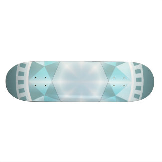 Decorative elegant diamond custom skate board