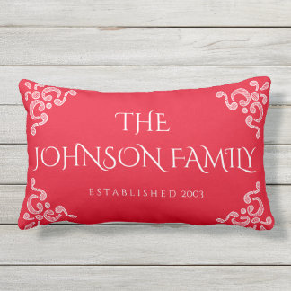 Decorative Family Personalized Pillow