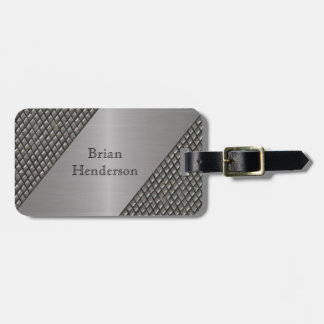 Decorative Faux Metal Custom Luggage Tag