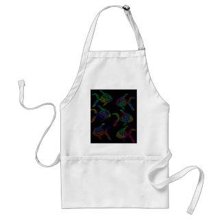 Decorative fish standard apron