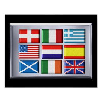 Decorative Flag poster