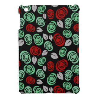 Decorative floral design iPad mini covers