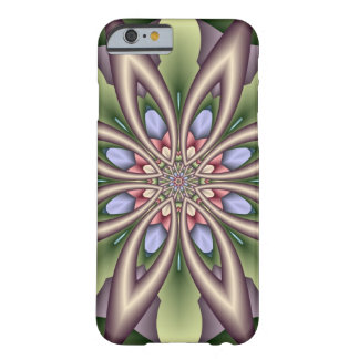 Decorative Floral Kaleidoscope Barely There iPhone 6 Case