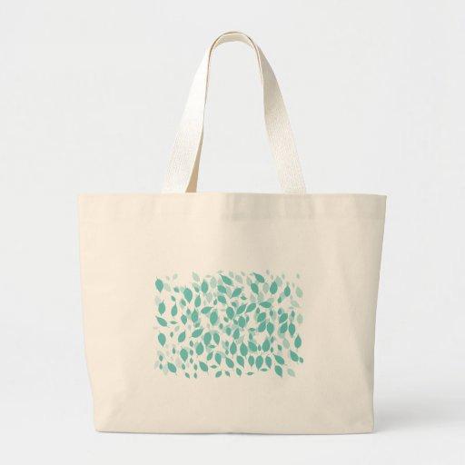 Decorative Floral Leaf Bag