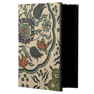 Decorative Floral Persian Tile Design iPad Air Case