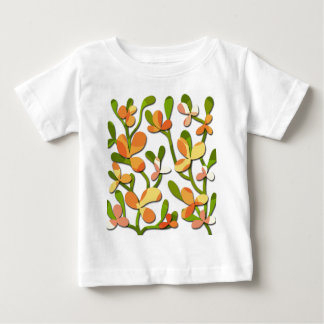 Decorative floral tree baby T-Shirt