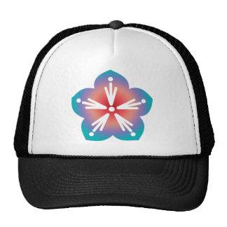 Decorative Flower Mesh Hat