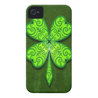 Decorative Four Leaf Clover Blackberry Bold Cover