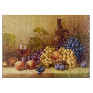 Decorative Glass Cutting Board/Still Life Fruit Cutting Boards