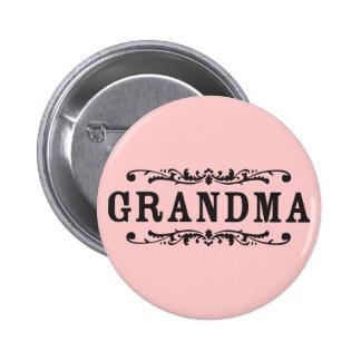 Decorative Grandma 6 Cm Round Badge