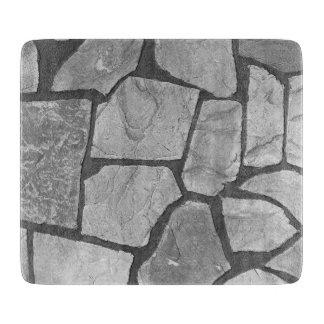 Decorative Grey Stone Paving Look Cutting Board