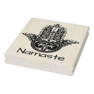 Decorative Hamsa Design Rubber Stamp