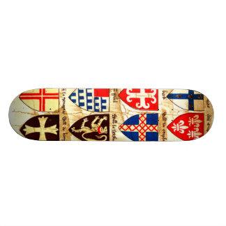 Decorative Heraldry Pattern Skateboards