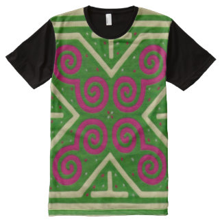 Decorative Hmong Pattern Graphic Tee