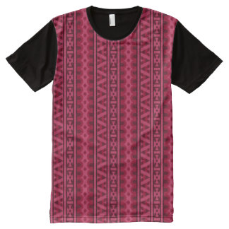 Decorative Hmong Spiritual Protection Pattern All-Over Print T-Shirt
