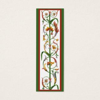 Decorative Italian Ironwork Bookmark Profile Card