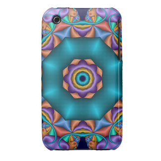 Decorative Kaleidoscope iPhone 3 c ase Case-Mate iPhone 3 Case